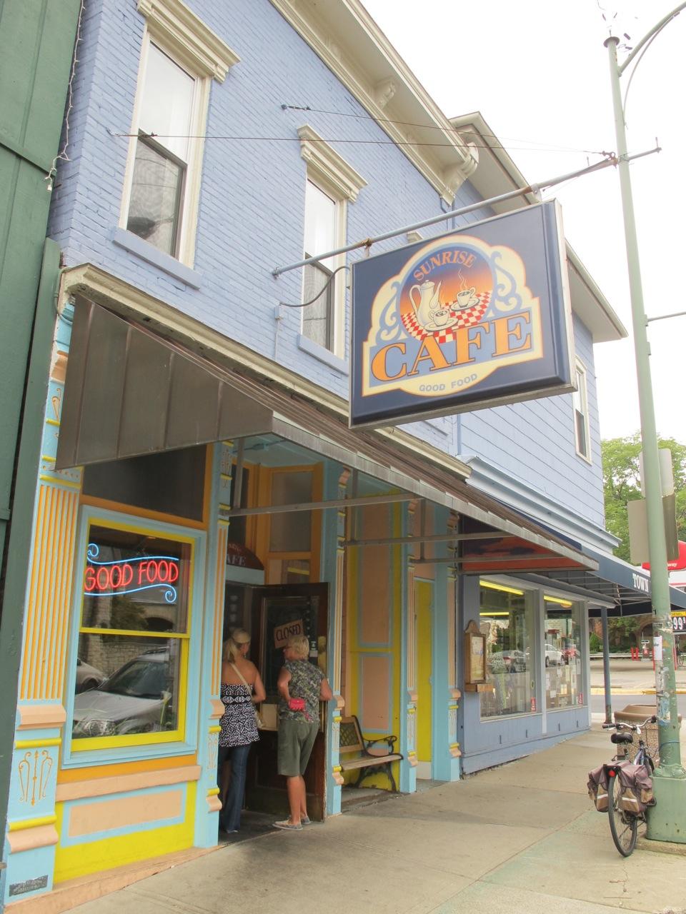 Sunrise Cafe Menu Yellow Springs