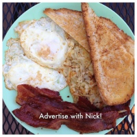 Advertise on Breakfast With Nick!